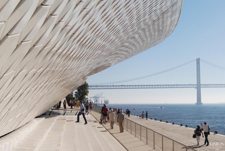 Cette semaine thematis était à lisbonne pour découvrir le nouveau musée de lart de larchitecture et de la technologie