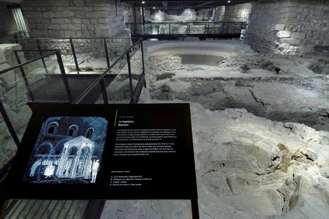 Site archéologique de la cathédrale St-Pierre, Genève