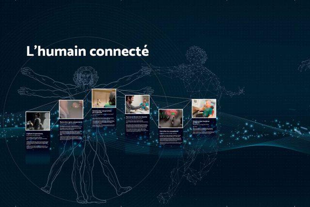 L'humain connecté, EPFL, Lausanne