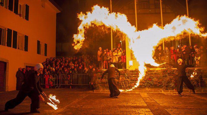 LUMINA, le festival des Lumières de l'Abbaye de Saint-Maurice!