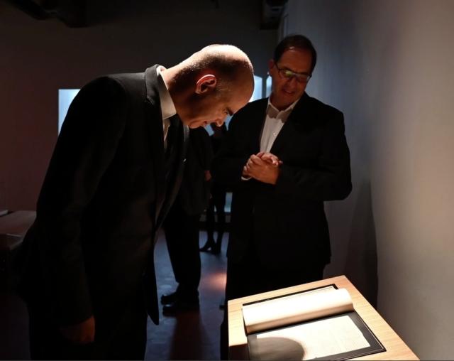 Visite du conseiller fédéral Alain Berset